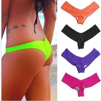 Sexy Women's Brazilian Bottom Beach V Cheeky Bikini Swimwear Bottom UK 6/8/10/12 = 1955898564