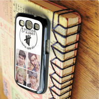 5 Seconds of Summer Derping Since 5 Seconds of Summer 5 Sos Calum Hood Luke Hemmings Michael Ashton   For Samsung Galaxy S3 Cases   Free Shipping   AH0790