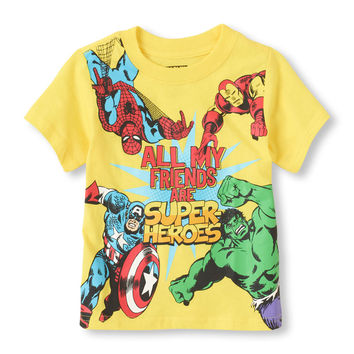 All My Friends are Super-Heroes Graphic Tee | US Store