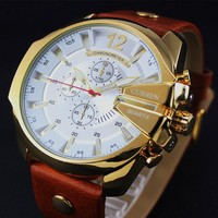Men's Fashion Luxury Super Man Business Casual Watch