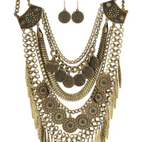 Cece Necklace Set - Gold