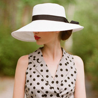 tanning in st. tropez floppy hat - $24.99 : ShopRuche.com, Vintage Inspired Clothing, Affordable Clothes, Eco friendly Fashion