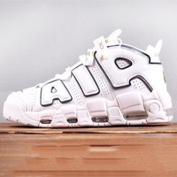 NIKE Air More Uptempo 'men's thick-soled, full-soled basketball boots