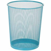 Honey-Can-Do 4.75-Gallon Mesh Metal Trash Basket - Walmart.com