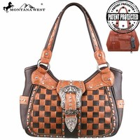 Montana West MW123G-8110 Concealed Carry Handbag