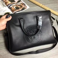 VERSACE MEN'S HOT STYLE LEATHER BRIEFCASE BAG CROSS BODY BAG