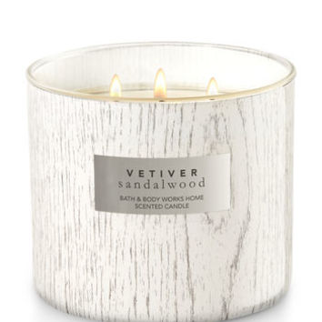 VETIVER SANDALWOOD3-Wick Candle