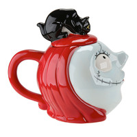 The Nightmare Before Christmas Sally & Black Cat Teapot