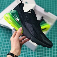 Nike Air Max 270 Black Volt Ah8050-011 Men's Sport Running Shoes - Best Online Sale