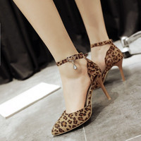 Design Summer Stylish Pointed Toe High Heel Shoes Plus Size Sandals [4920245316]