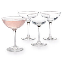 Luminarc Cachet 4-Pc. Coupe Glass Set - All Glassware & Drinkware - Dining & Entertaining - Macy's