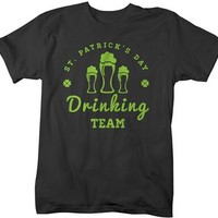 Shirts By Sarah Men's Funny St. Patrick's Day Drinking Team T-Shirt
