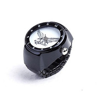 Mumar Fashionable Watch Ring Alloy Jewelry