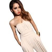 Krazy Sexy Club Cocktail Party Evening Jumpsuit Playsuit Romper US Size 0-2 4-6 6-8