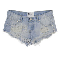 Bonita cut off shorts in Wilde