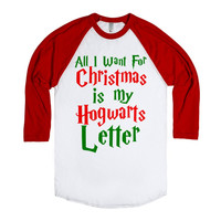 all i want for christmas is my hogwarts letter