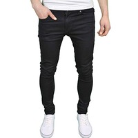 526Jeanswear 'SENJO' Mens Designer Branded Stretch Super Skinny Fit Jeans