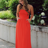 Seize the Day Maxi - Vermilion