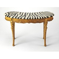 Luisa Fossil Stone Writing Desk by Butler Specialty Company 0603070