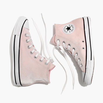 Converse® Chuck Taylor All Star High-Top Sneakers in Velvet : shopmadewell sneakers | Madewell