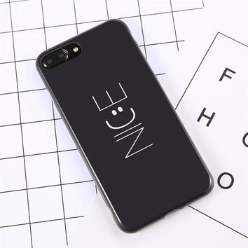 Nice :) Black Cases For iPhone 7 6 6S Plus