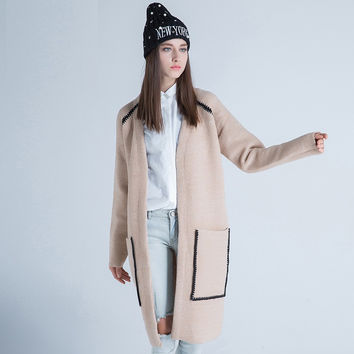 Sweater Winter Knit Tops Jacket [9056520134]