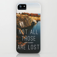 Wander iPhone & iPod Case by Tina Crespo