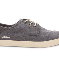 TOMS for Movember Grey Wool Men's Paseos
