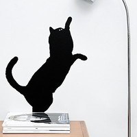 Guitou Cat Wall Stickers - Urban Outfitters