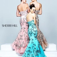 Sherri Hill Dress 21058 at Peaches Boutique