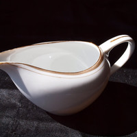 Royalton China Co. Creamer - Golden Elegance Pattern