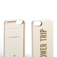 Women's kate spade new york 'power trip' iPhone 5 case & portable charger