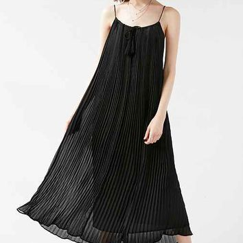 Carolina K Milla Pleated Maxi Dress