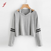 korean harajuku hoodies and sweatshirts for women 2017 New Crop top pullover hoody clothes for girls women's hoodie with hood