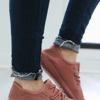 Sole Queen Sneaker - Dark Peach