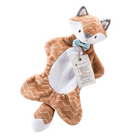 Baby Aspen Cuddles and Snuggles Fox Plush Lovie, Orange