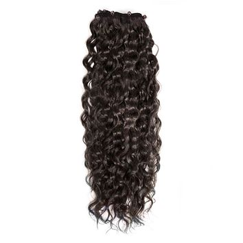 Curly Beaded Weft Rows