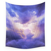 Society6 The Skies Are Painted III (Cloud Galaxy) Wall Tapestry