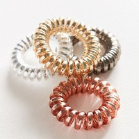 Telephone Cord Hair Tie Set | Urban Outfitters