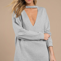Not Your Average Sweatshirt Dress