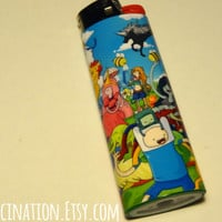 Adventure Time Inspired Bic Lighter Decal