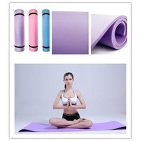 """6mm Thick Non-Slip Yoga Mat Exercise Fitness Lose Weight 68""""x24""""x0.24"""" HS-n6 [8069648263]"""