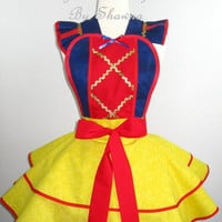 Snow White Inspired Costume Apron
