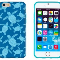 """iPhone 6 Case, DandyCase PERFECT PATTERN *No Chip/No Peel* Flexible Slim Case Cover for Apple iPhone 6 (4.7"""" screen) - LIFETIME WARRANTY [Sea Turtles]"""