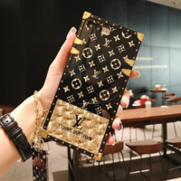 LUXURY LV Case for iPhone 7 8 X XR XSMAX