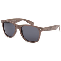 Blue Crown Forest Wood Classic Sunglasses Wood One Size For Men 26203046101