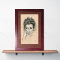"""Framed & Matted Print """"I Can't Even Hear Myself Think..."""""""