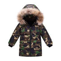 Baby Boy Clothes Winter Baby Boy Coat Cotton Children Clothing Warm Infant Coat Army Green Kids Clothes Roupas Bebe Baby Coat