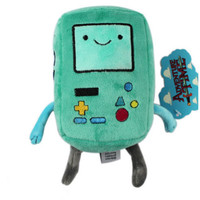 "7"" New BEEMO BMO Plush Toy Adventure Time with Finn and Jake Kid Soft Toy Doll"