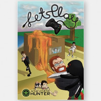 Let's Play Poster (24 x 36)